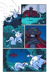 Hero Cats #13 page 11 COLOR by s-iRON