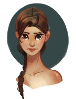 Katniss by victoriaying