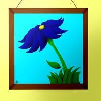 The Flower Painting by MidNightFlyer53
