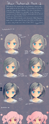 Hair Tutorial Part 2 by KyouKaraa