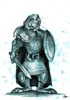 Hare of the Long Patrol by FortunataFox