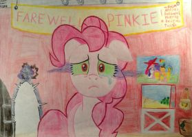 Farewell to Pinkie Party- Sombra's Door by Stevethepencil