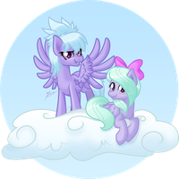 The Pegasi Twins by Ruaniamh