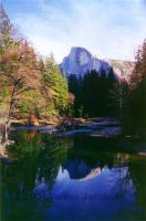 Half-Dome Reflection by kalany