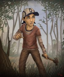 Clementine - The Walking Dead by Nick-McD