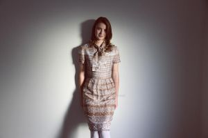 Collar Tie Dress by froggypondd