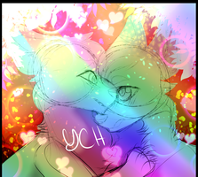 Rainbow Lights Ych {CLOSED} by BetterthanaBase