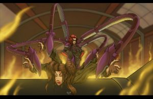 Spiders are bigger than insects by Sean-Loco-ODonnell