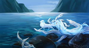 Icy Fjords by Karijinni