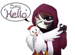 Say Hello! by Nekinu-the-Outsider