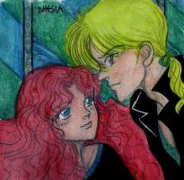 HPDH_Rose and Scorpius by Dhesia
