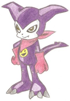 Impmon by Natii18
