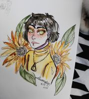 Sunflower by Lavendica