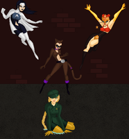 The Heros by MobMotherScitah
