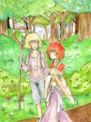 In the forest by Dacachi