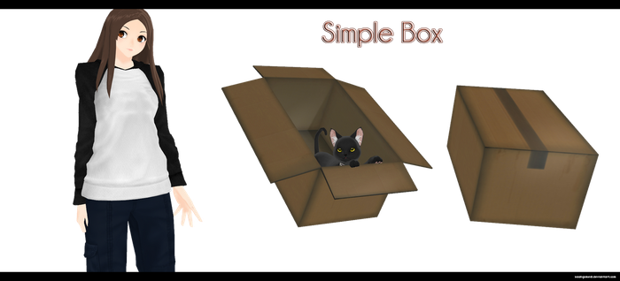 Simple Box by kaahgomedl