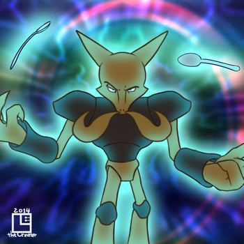 Pokeddexy Day 15 - Favorite Psychic-Type by LE-the-Creator