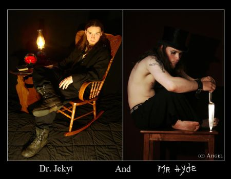 Dr. Jekyll and Mr. Hyde by DarkAngelic777