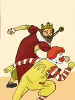 Ronald vs King by Blanco55
