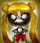 Zombie Sailor Moon by Eilyn-Chan