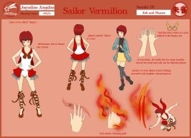 Sailor Vermilion Reference Sheet by teejaii