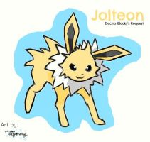 Jolteon by MissPepperony