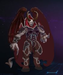 unfinished Heroes of the Storm Dreadlord by xiaorobear