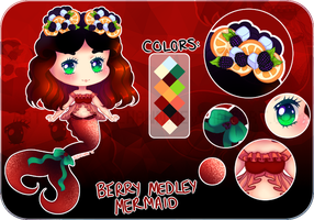 [OPEN][$5] Berry Medley Mermaid by rosiechann