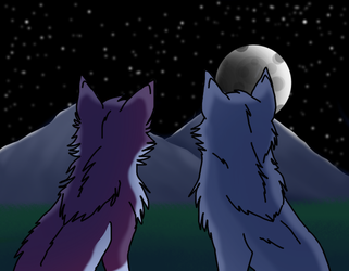 Face the Mountains by WolFkId27