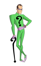 The Riddler(60s) by the--jacobian