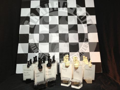 Cosplay Chess Set 01 by Sunnybrook1