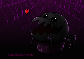 Undertale Muffets pet by SpaceDog500