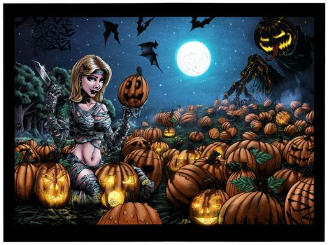 Ivy and the Great Pumpkin - Colored by LadyOrange