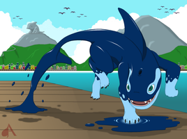 Orcane, the Puddle Jumper by Ace1257