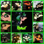 The Splat Fighters: Forest Collage by Darkmegafan01