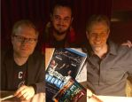 Meetin Adam Pascal and Anthony Rapp by jay3jay