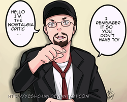 Nostalgia Critic by yesi-chan