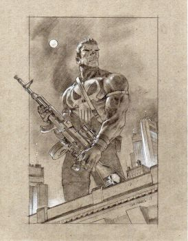 Punisher for a friend by saltares