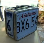 License Plate Lunch Box Alabam by aldosart