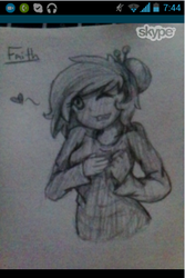 Quick sketch of Faith by TheMoliminous