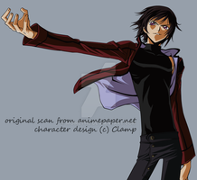 Lelouch....he loves to pose by moirethe