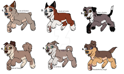 Crackship Adopts Dogs (CLOSED) by Claire-Cooper