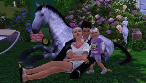 family photo by TheSims3Pets