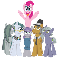 The Pie Family by CrazyNutBob