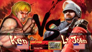 Ken VS Lt John by Pazero