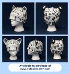 Snow Leopard Hat by cutekick