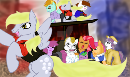 :Les Mis Ponies: Do you hear the ponies sing by Reipid