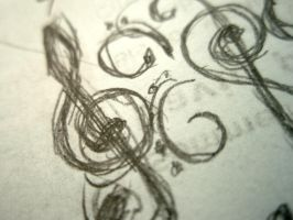 Scribbles: Clefs by glimmer-of-Soul