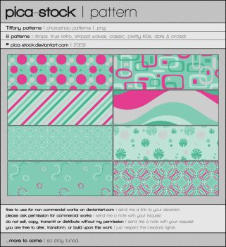Tiffany Patterns by pica-stock by pica-stock
