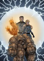 Fantastic Four by Diar+WitchyS by Diarmuid